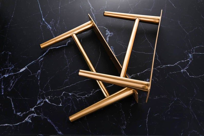 7 7 8 Tapered Legs Cabinet Legs Cabinet Legs Gold Furniture