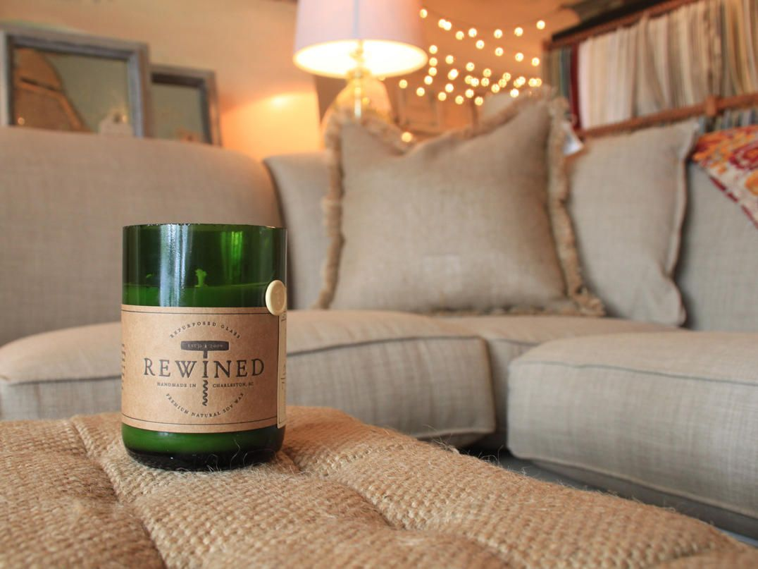 Local Find: Set of 3 Wine Candles by Rewined -- LivingSocial Shop