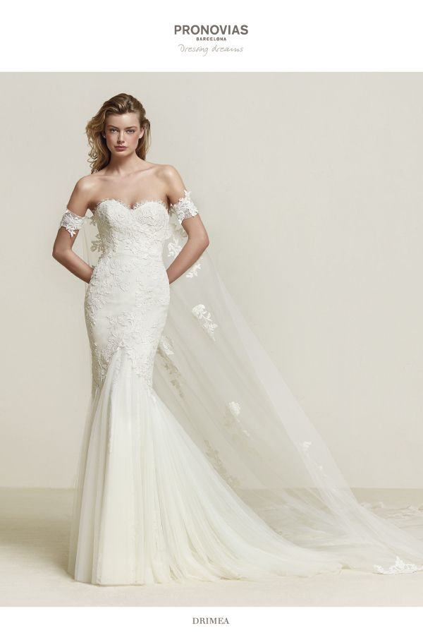 Pronovias Wedding Dress Find And More At Here Comes The Bride In San Diego