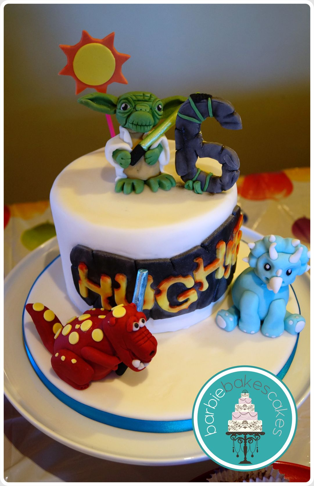 Star Wars V Dinosaurs Birthday Cake Barbie Bakes Cakes Web Www