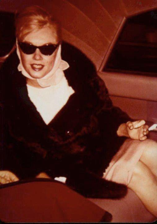 Janvier 1961 New York - Divine Marilyn Monroe