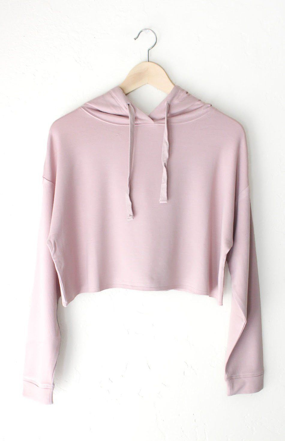 8ae71369 Dusty Pink Cropped Hoodie | Products | Ropa, Moda adolescente, Ropa ...