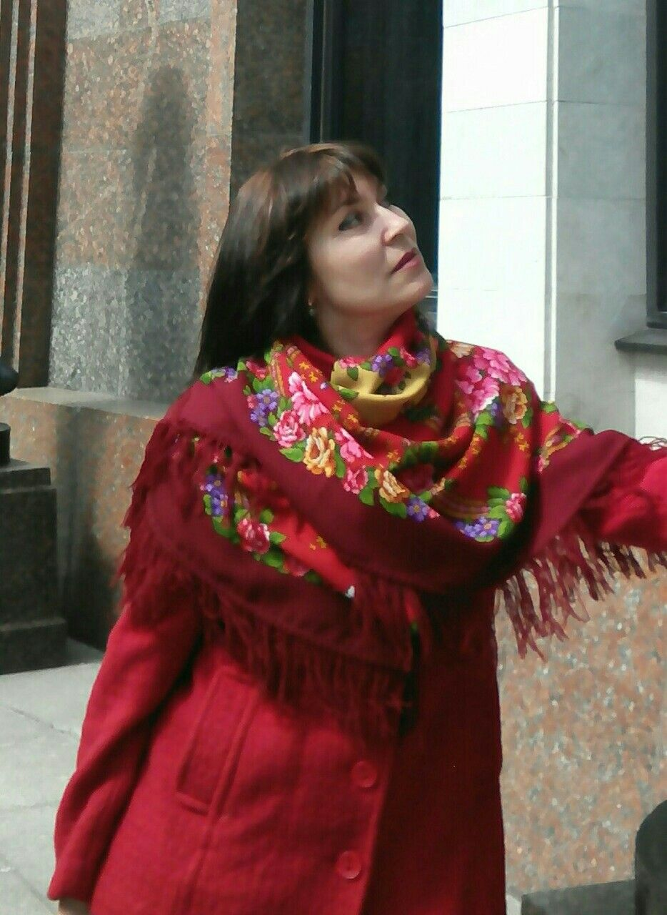 павловопосадские платки на ладожской