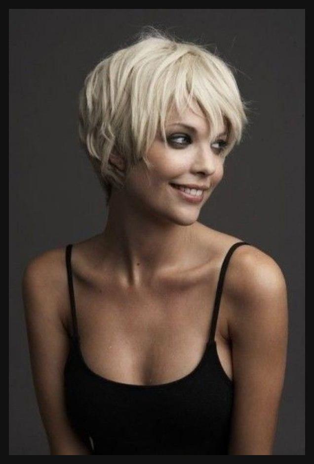 Lange Pixie Haarschnitt fr feines Haar  Lovely