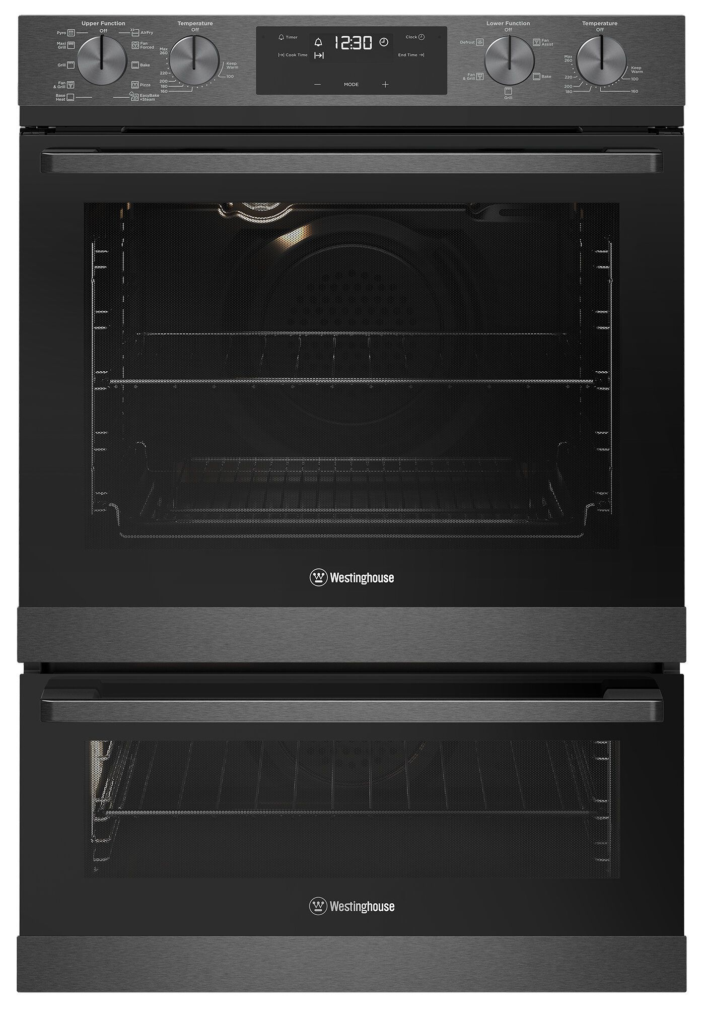 Westinghouse 60cm Pyrolytic Double Oven Wvep627dsc In 2020