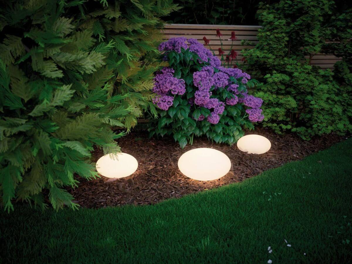 Paulmann Plug Shine Lichtobjekt Stone Ip67 24v O 28 Cm Warmweiss 3000 K Lampen Garten Gartenbeleuchtung Aussenbeleuchtung Garten