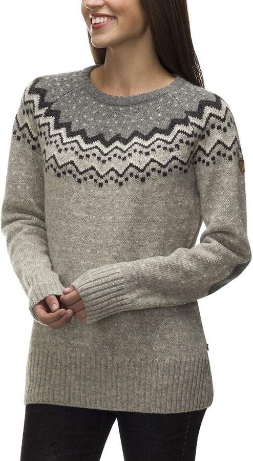 d7fe42e92352f Fjallraven Ovik Knit Sweater - Women's   Products   Sweaters for ...