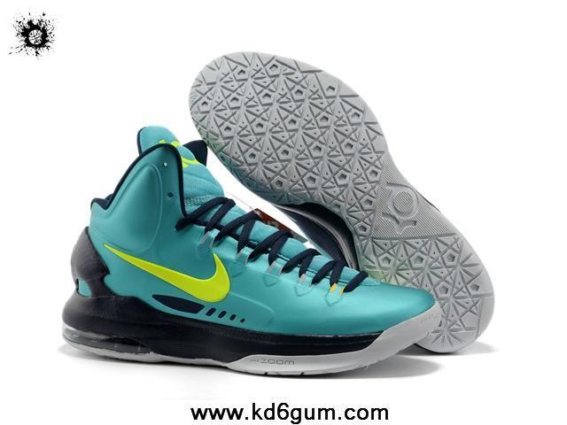brand new 0ebef 0dcac New Jade Black Grey 554988 300 Nike Zoom KD V