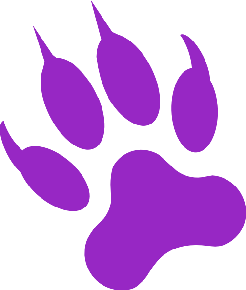 Black Panther Paw Print Tattoo Clipart Free Clip Art Images Clip Art Wolf Paw Print Free Clip Art