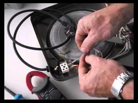 Reparacion De Resistencia Electrica Placa De Cocina Fusible