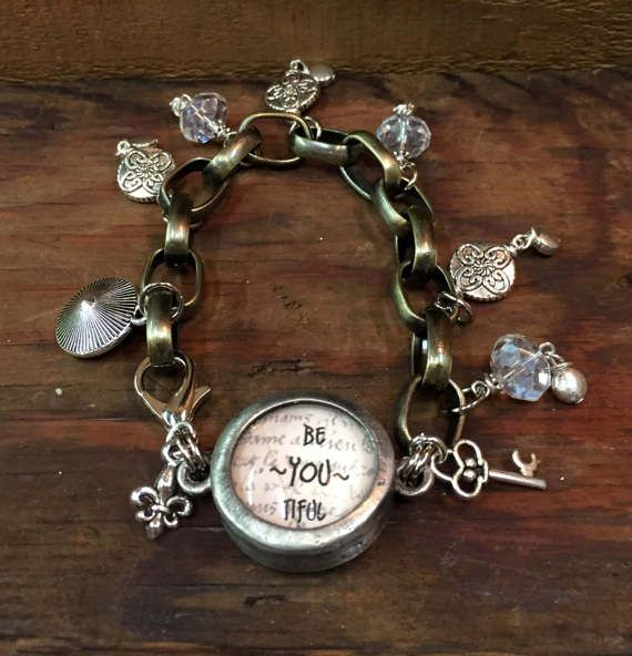 BeYOUtiful Handmade Charm Bracelet, Beautiful
