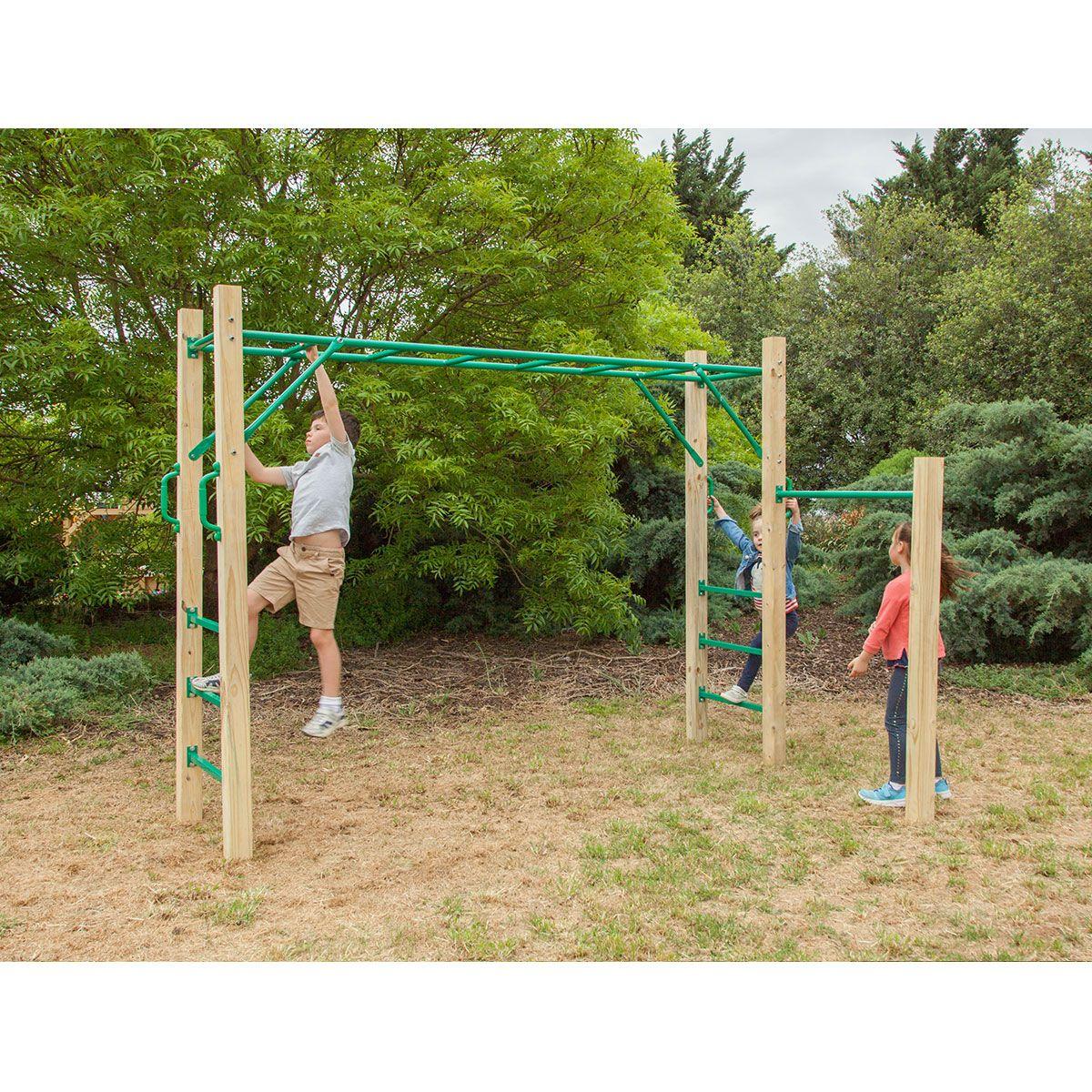 Amazon 25m monkey bar set monkey bars outdoor kids