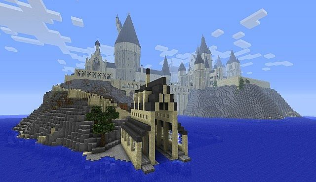 Harrypottercraft Minecraft Server Hogwarts Minecraft Minecraft Castle Minecraft Blueprints