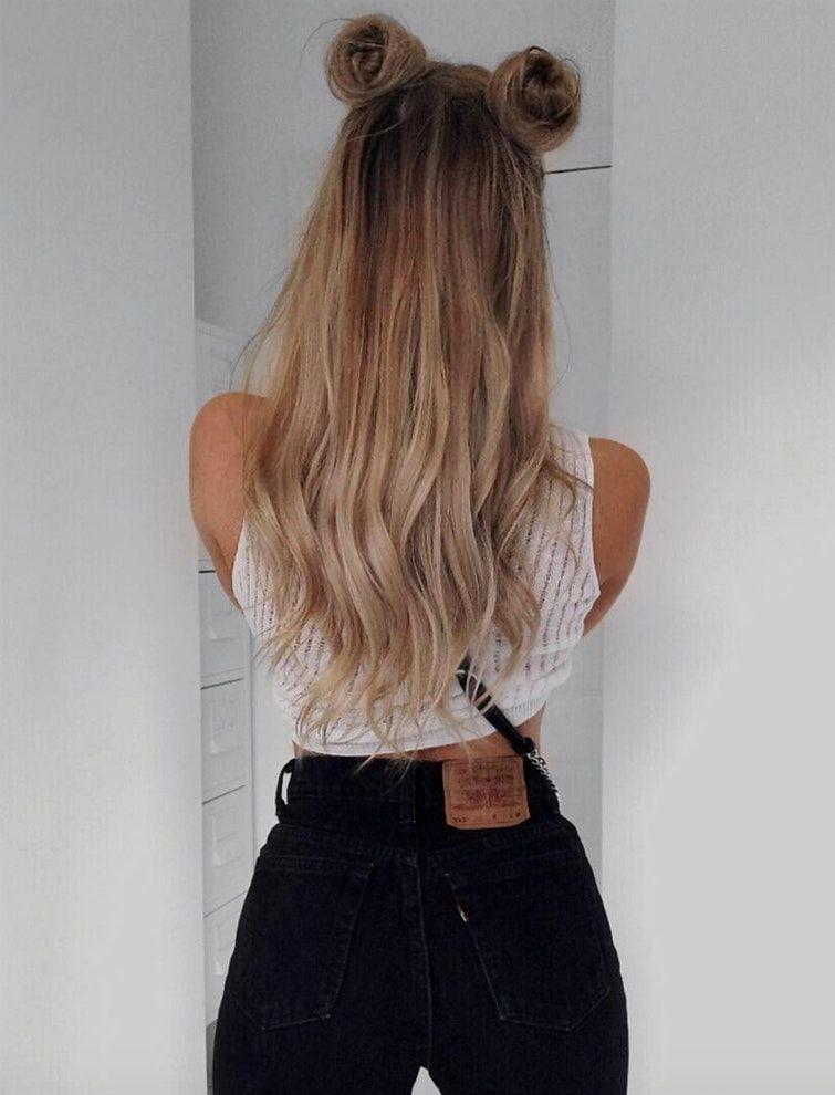 Resultado de imagen para chicas tumblr peinados faciles - Peinados para chicas ...