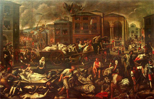 Pin su Storia, la peste del '300