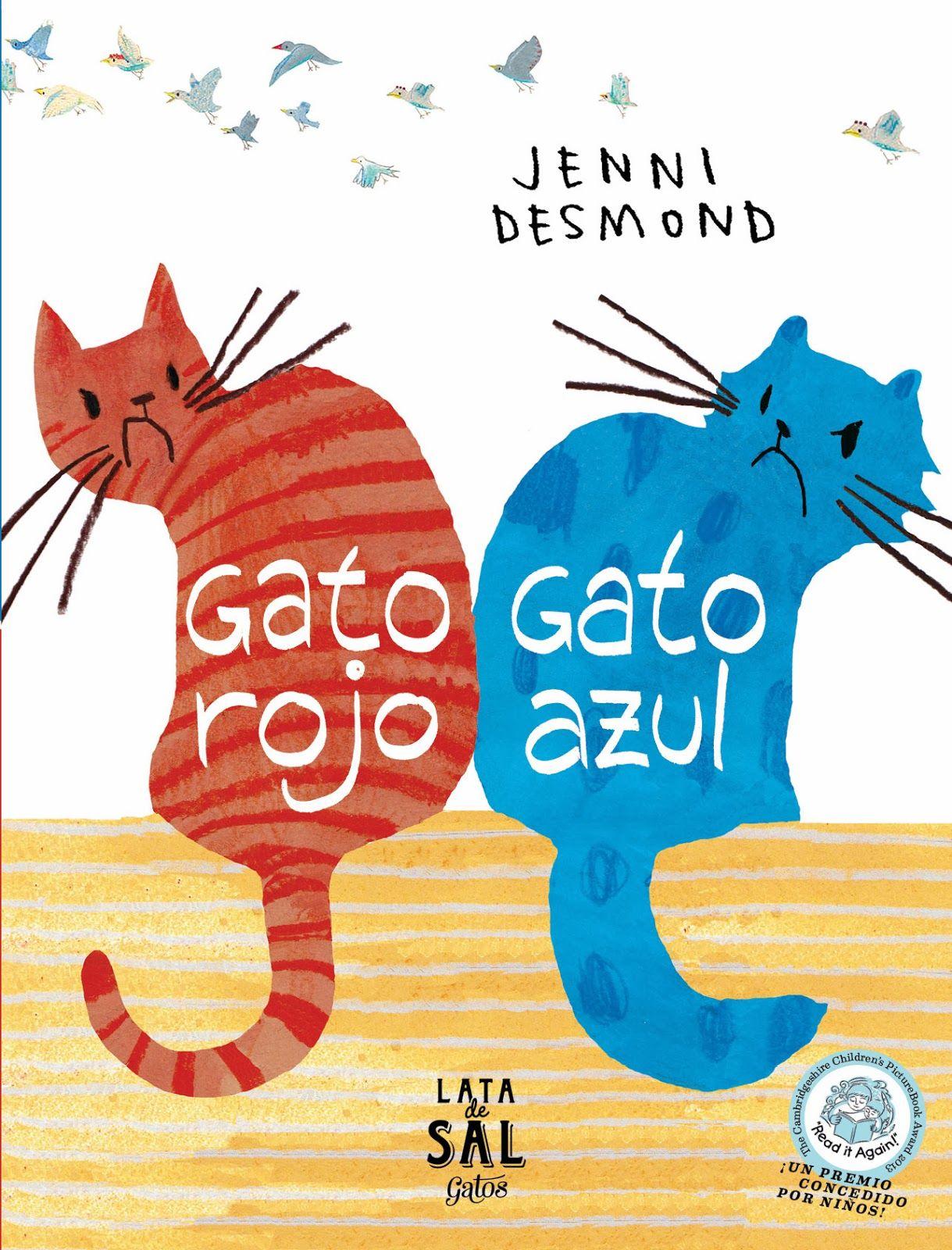 soñando cuentos: GATO ROJO, GATO AZUL. | Libros infantiles ...