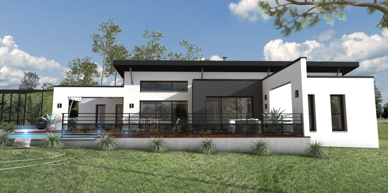 Constructeur maison moderne le cellier loire atlantique 44 for Maison contemporaine 44