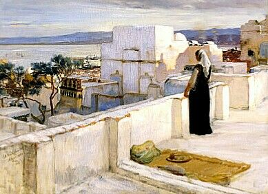 Algerie Peintre American Frederick Arthur Bridgman 1847 1928