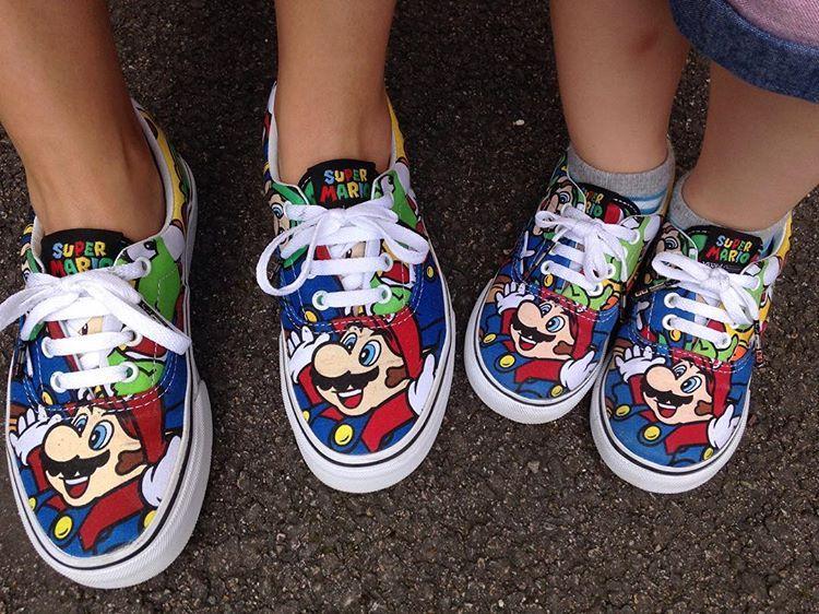 abcd3bc590 Nintendo x Vans Era Mario   Friends  Journeys  ( SDJ 06 07 2016 ...