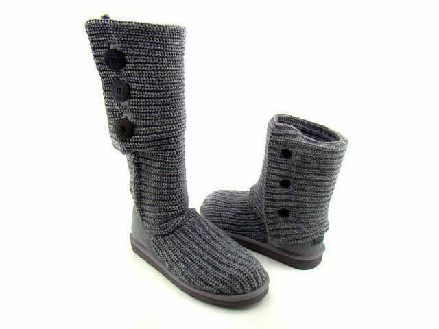 1d634093068 Sale UGG Classic Cardy Boots 5819 Grey Clearance Ebay | ugg | Ugg ...