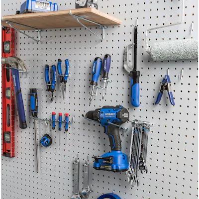 Blue Hawk Steel Pegboard Hook Lowes Com Steel Pegboard Peg Board Pegboard Accessories