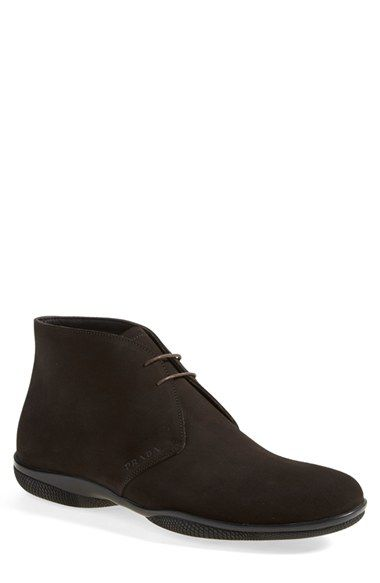 Prada 'Toblak' Chukka Boot (Men) available at #Nordstrom