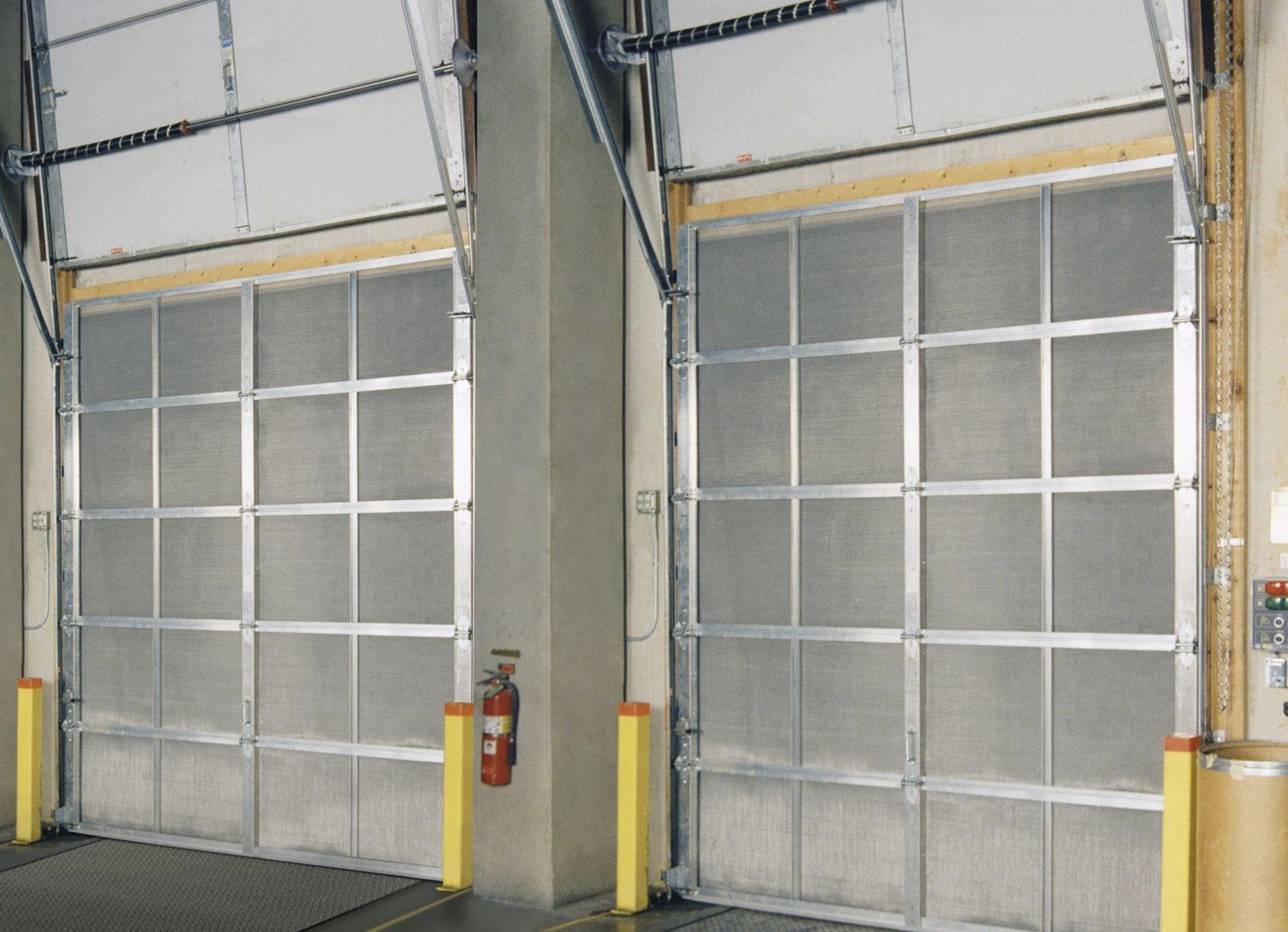 Industrial Screen Garage Doors Httpthefallguyediting