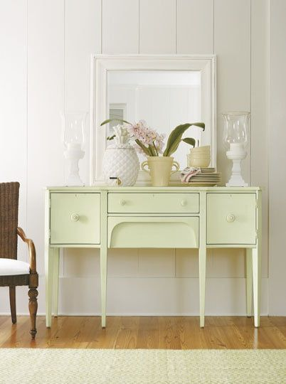 Pastel Painted Furniture from the Coastal Living Collection | Apartment Therapy & Pastel Painted Furniture from the Coastal Living Collection ...