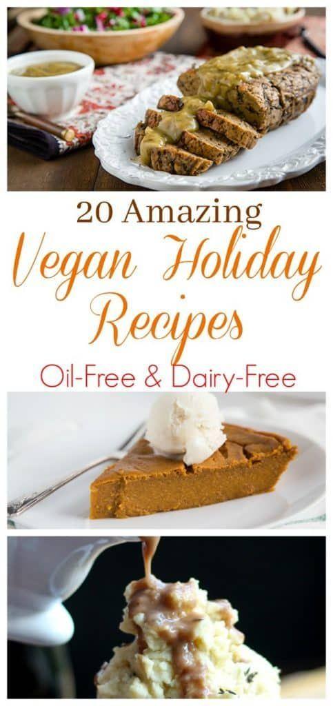 20 Vegan Holiday Recipes