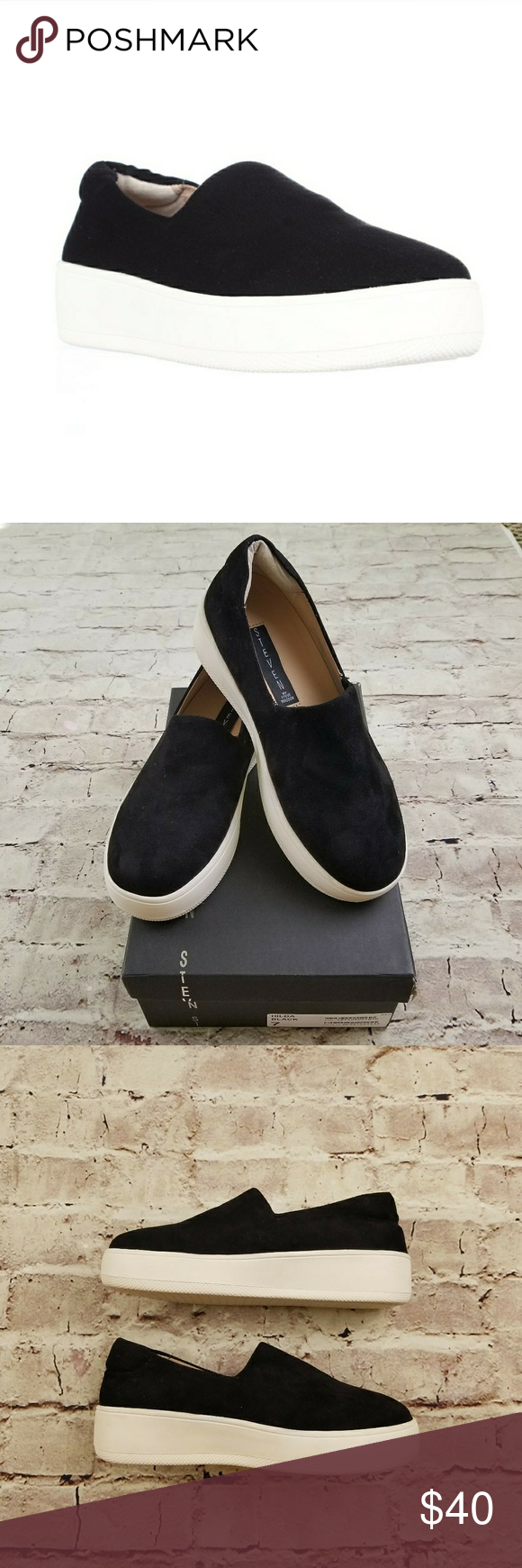 15dc1ea465f STEVEN Steve Madden Hilda Fashion Sneakers Slip-On STEVEN by Steve Madden  Women s Hilda Fashion