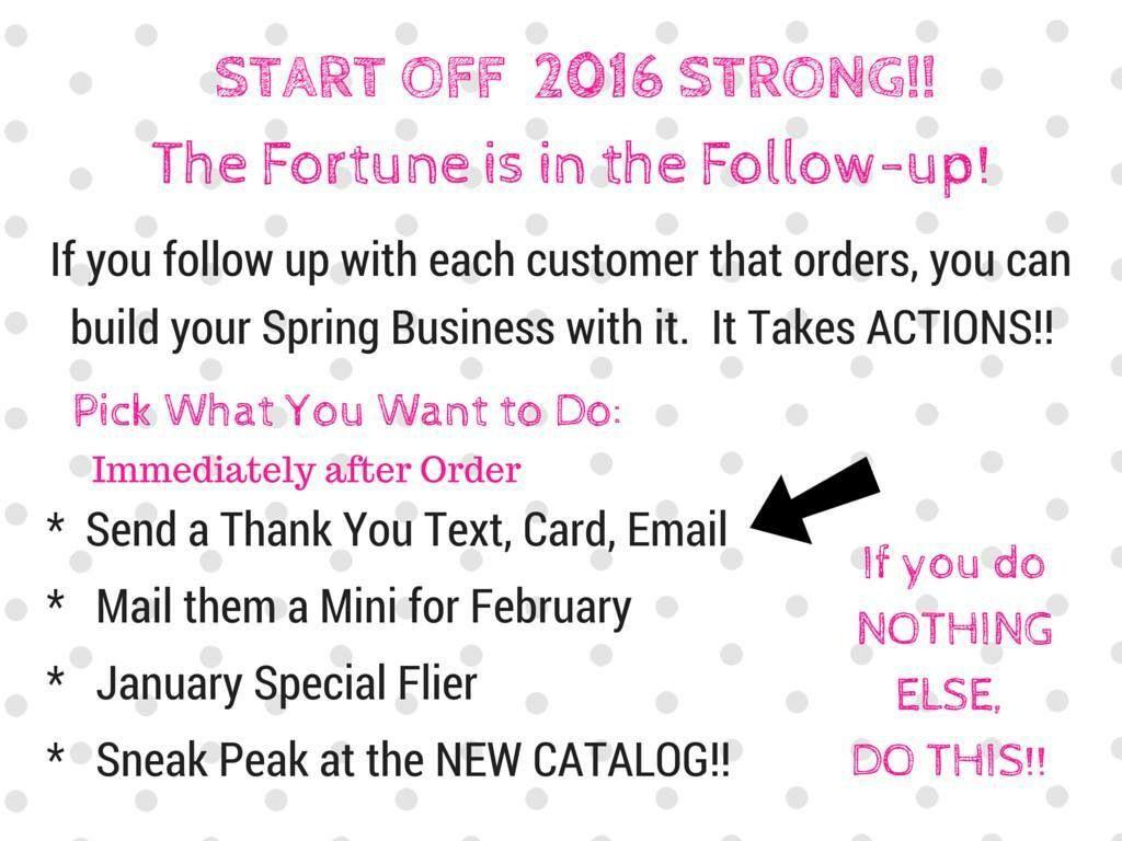 Follow up! | Thirty-One Consultant-Inspiring Ideas! | Pinterest ...