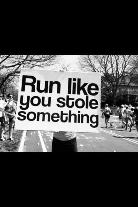 I'm not much of a runner but sometimes I wish I were.