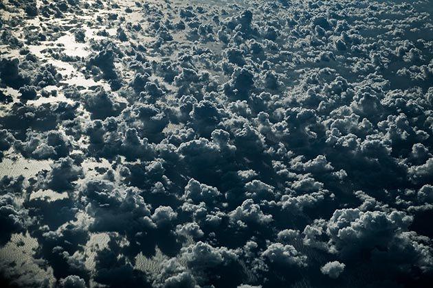 Fotografia: Formações de nuvens sobre o Mar Mediterrâneo | Legaus