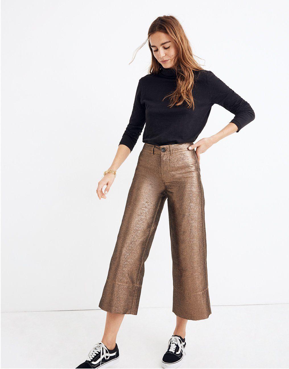 e7728cf0db madewell emmett wide-leg crop pants.  giftwell