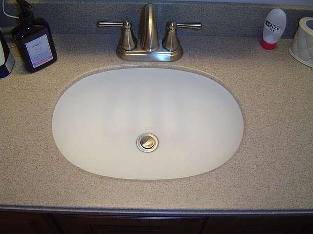 A Solid Surface Solieque Vanity Countertop is an Ideal Solution for a Bathroom  Vanity Countertop