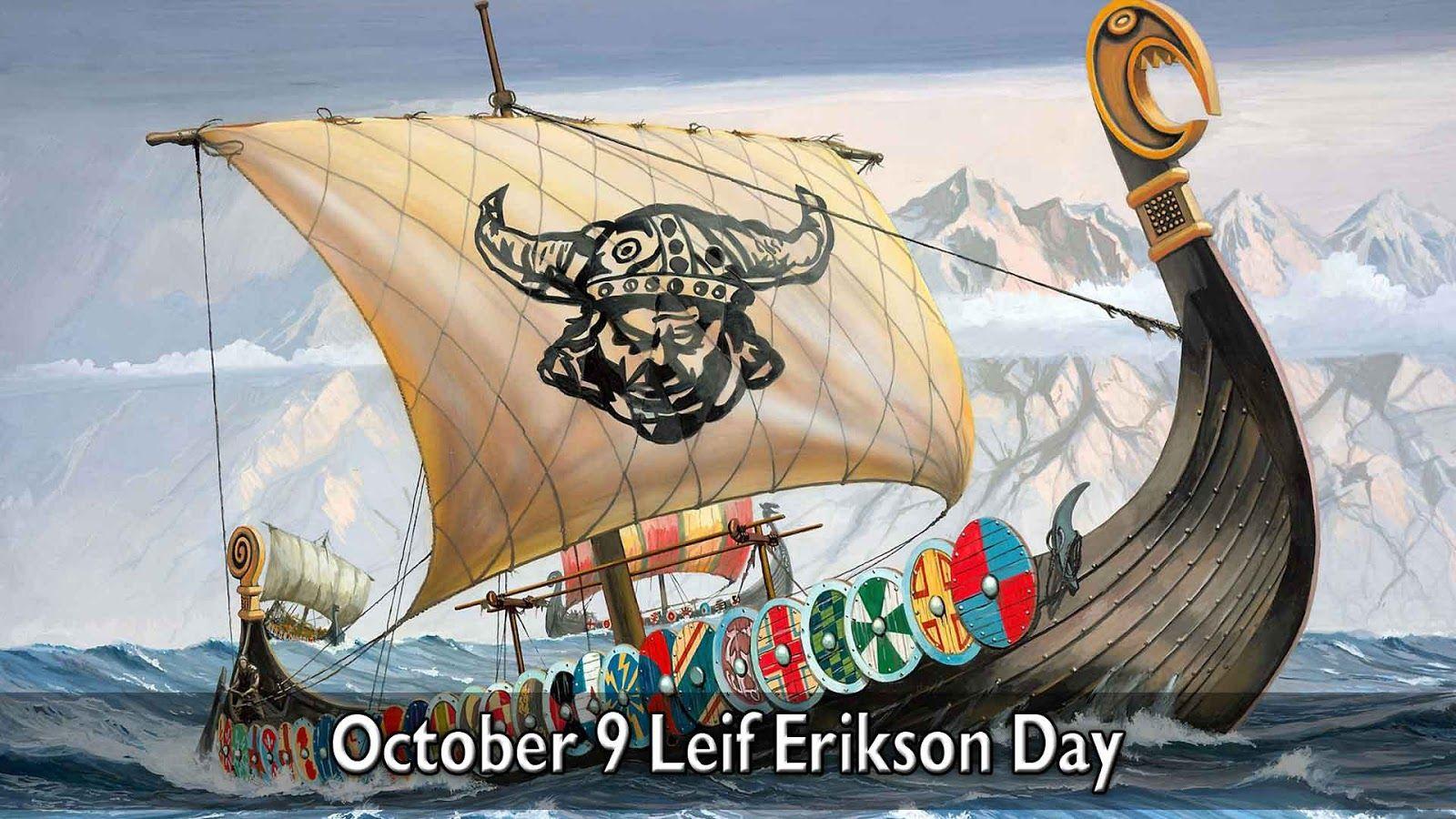 October 9 Leif Erikson Day