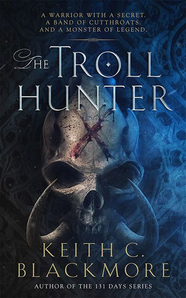 Book Cover Fantasy Quiz : The troll hunter by keith c blackmore great designed