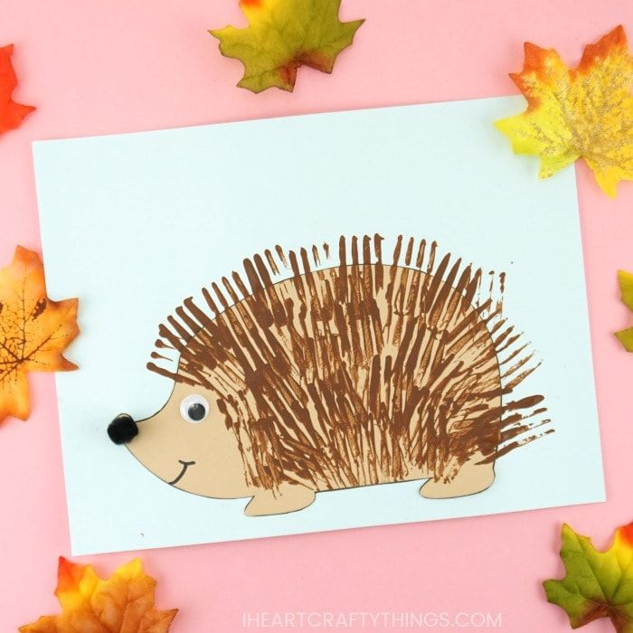 Photo of 3 Easy Hedgehog Crafts for Kids