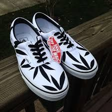 d1c65291093 Image result for weed shoes for sale Custom Painted Shoes