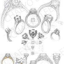 Disegnare gioielli a mano bing immagini fabolouse for Design di gioielli