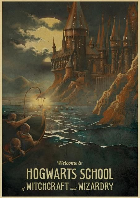 Vintage Harry Potters Posters #newhouseoptions