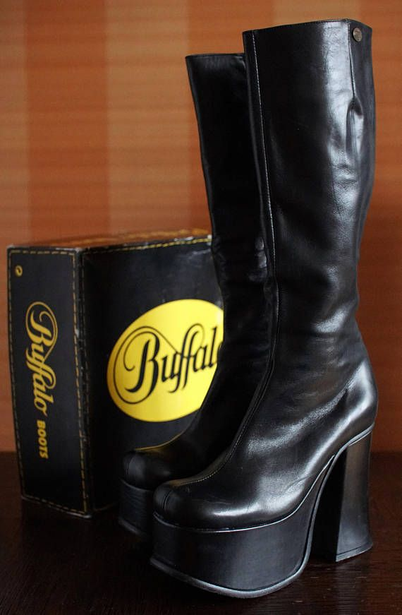 d1956c03450 BUFFALO T 24400 II platform boots 90 s Club Kid Gothic Rave Techno 90s boots  24440t