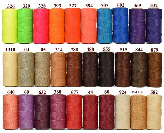 50 Meters Pink Waxed Polyester Twisted Cord 1mm Macrame String Linen Thread