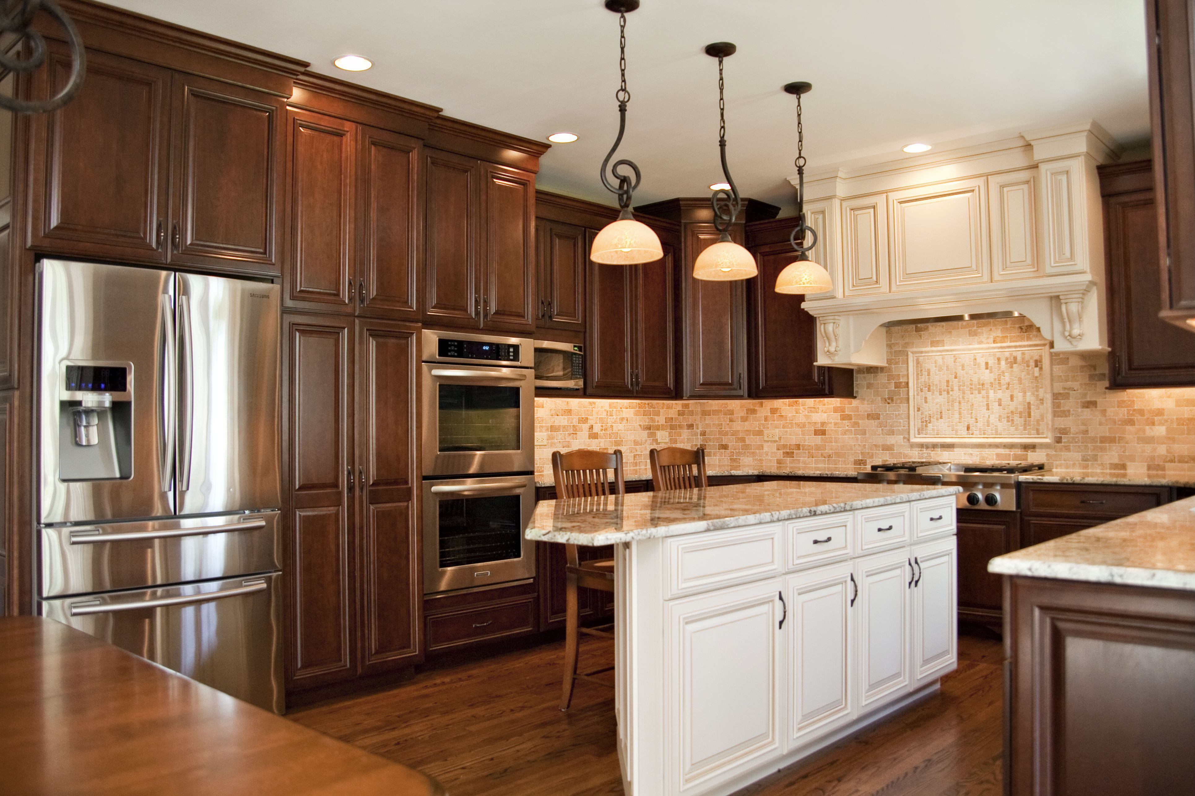 chocolate kitchen cabinets how to decorate aurora il remodel beautiful cherry cabinet in cog