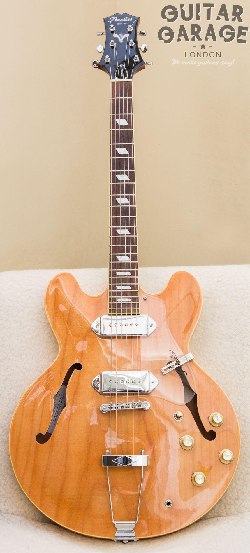 Peerless Songbird Hollowbody Cool Guitars Pinterest Guitars