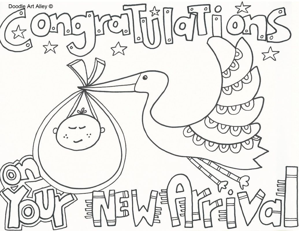 Free Baby Shower Coloring Pages Printables Baby Shower Coloring