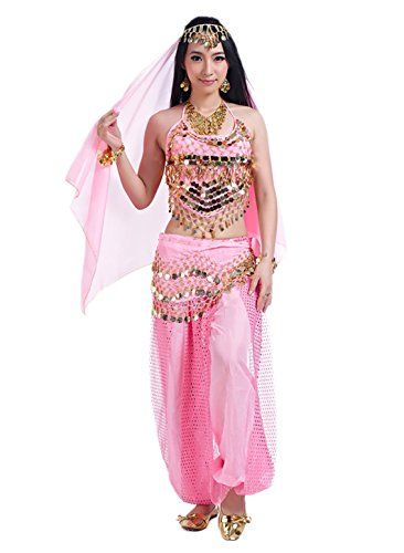5c9fd9a00bdd Seawhisper 12 Colors Belly Dance Costumes India Dance Out ...
