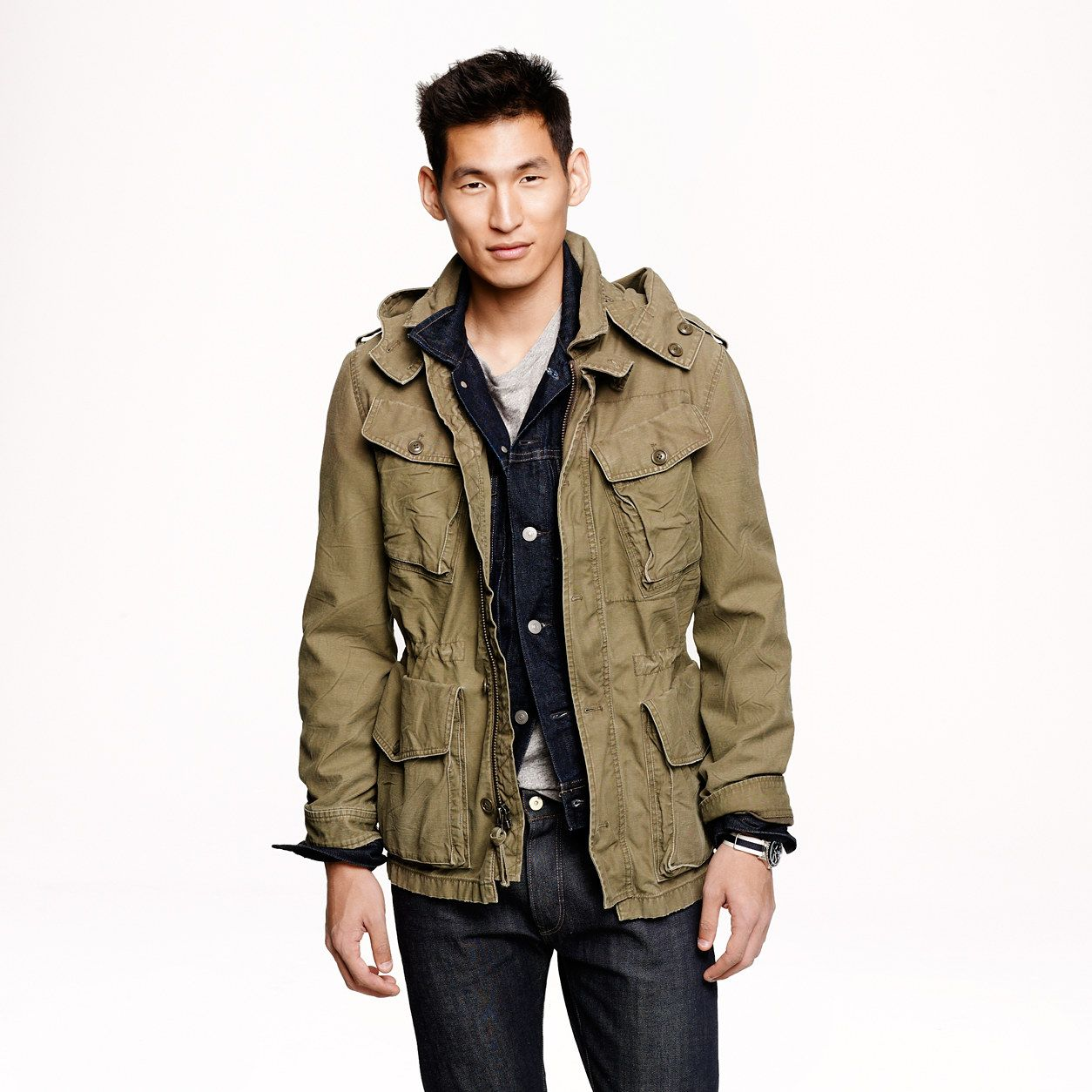 Garrison fatigue jacket - Field Jackets - Men's ...