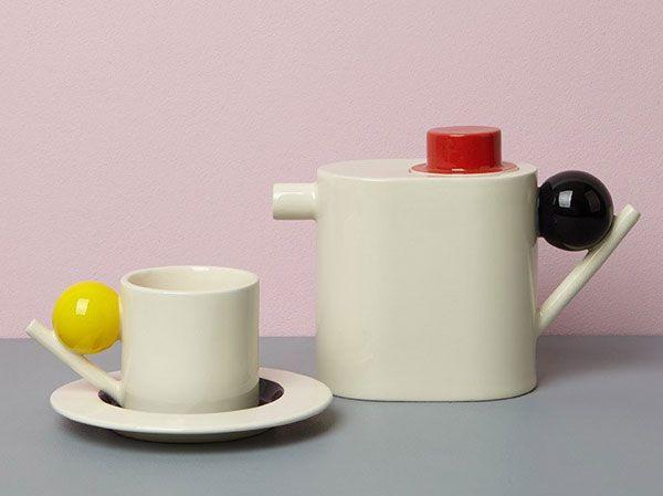 Bauhausinspired geometric ceramics by Design K Bauhaus