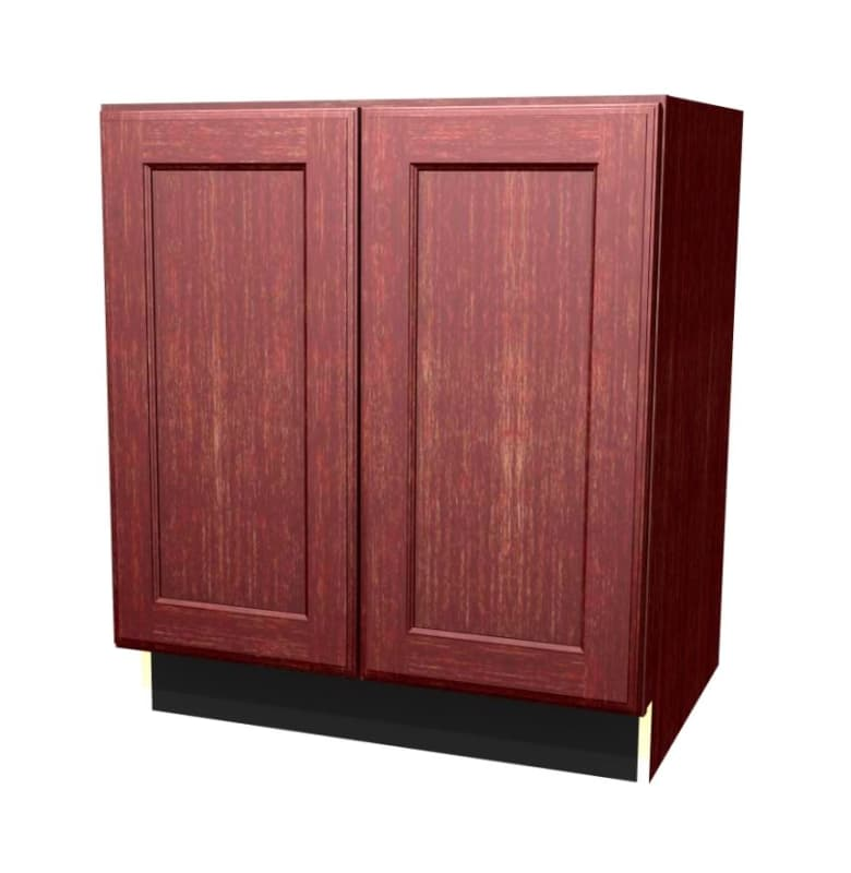 Build Essentials Ral Mp S All C B30bfhhds 30 Inch Wide Recessed Panel Door Left Dark Brown Stain Kitchen Cabinets Base Cabinets 30 Inch Panel Doors Staining Cabinets Base Cabinets
